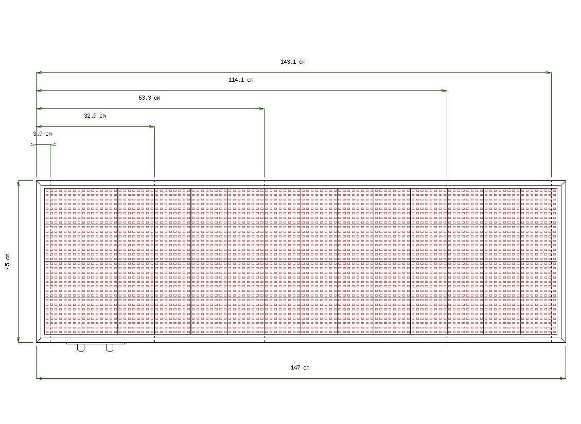 Wymiary tablicy